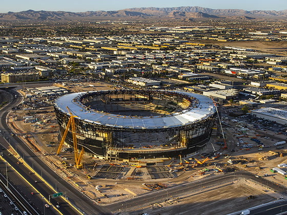 Parking, walking to Allegiant Stadium: What you need to know