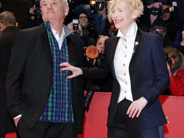 Bill Murray & Tilda Swinton