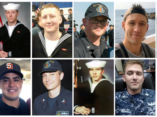 US Navy recovers remains of all sailors missing after USS McCain collision