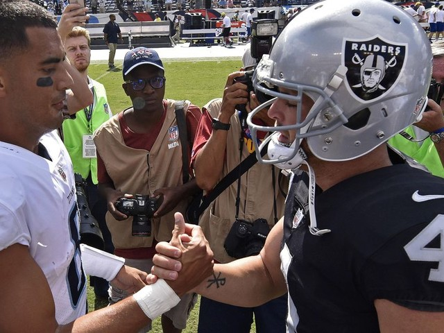 Derek Carr and Marcus Mariota can get back on track — just probably not this season