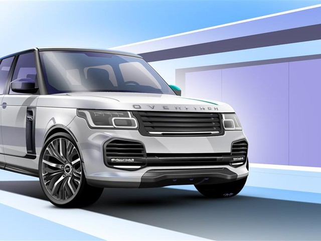 2018 Land-Rover Range--Rover supercharged Modified By OVERFINCH