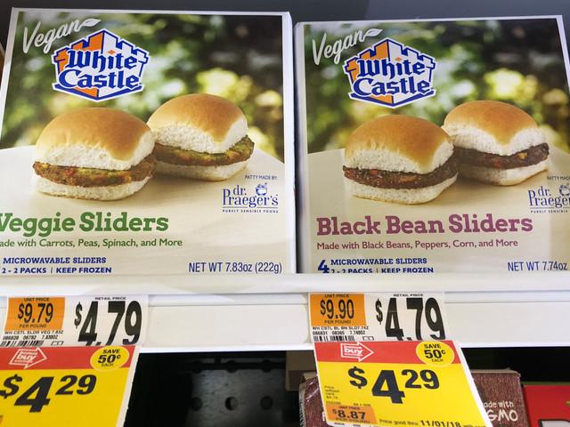 Stop & Shop Gas Rewards: White Castle Meatless Sliders as low as $1.16 {11/15}