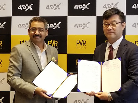CineAsia: India's PVR Signs Bumper Deal With 4DX