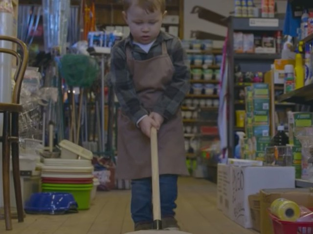 VIDEO: Small business owner's Christmas ad featuring his toddler son has gone hugely viral — and it cost only $130 to make
