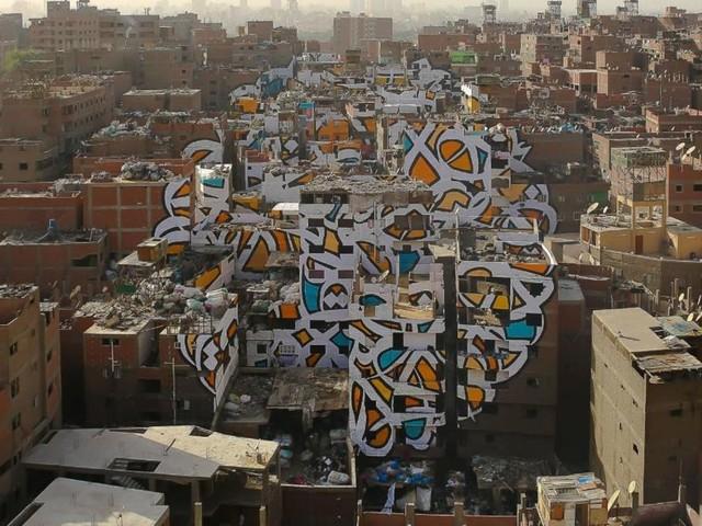 Graffiti artist 'El Seed' finds a home in Dubai's new underground