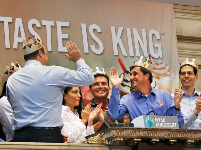The company behind Burger King wants to take over fast food — and that could mean buying Papa John's (QSR)