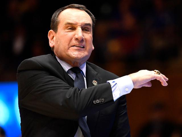 Duke's Mike Krzyzewski yells at Cameron Crazies for Jeff Capel chant