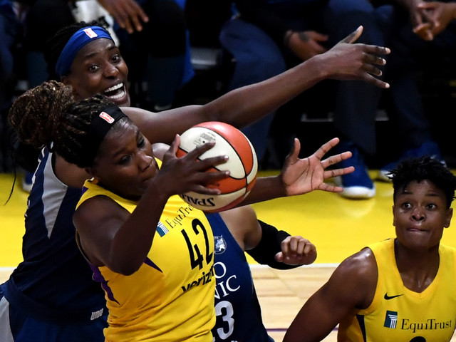 Sparks trade Jantel Lavender to Chicago Sky for 2020 second-rounder