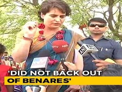Priyanka Gandhi On Why She's Not Contesting Against PM Modi