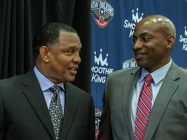Dell Demps fired as Pelicans GM after team didn't trade Anthony Davis
