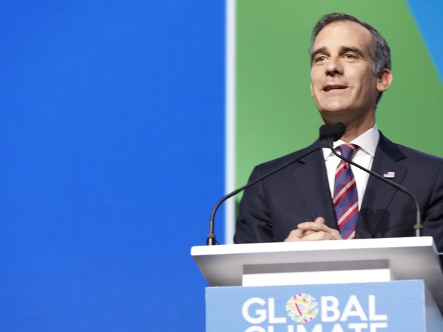 Mayor Garcetti on the role of cities in tackling climate change