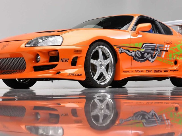 Paul Walkers Fast and Furious Supra Is Up For Auction Again