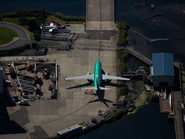 Boeing Rises as FAA Says It's 'Pleased' With Progress on Max