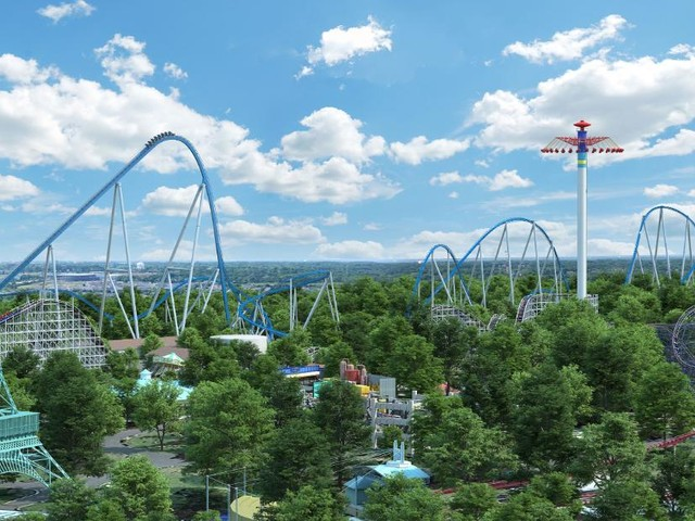 Ohio theme park unveils Orion, a 'giga coaster' with a 300-foot drop