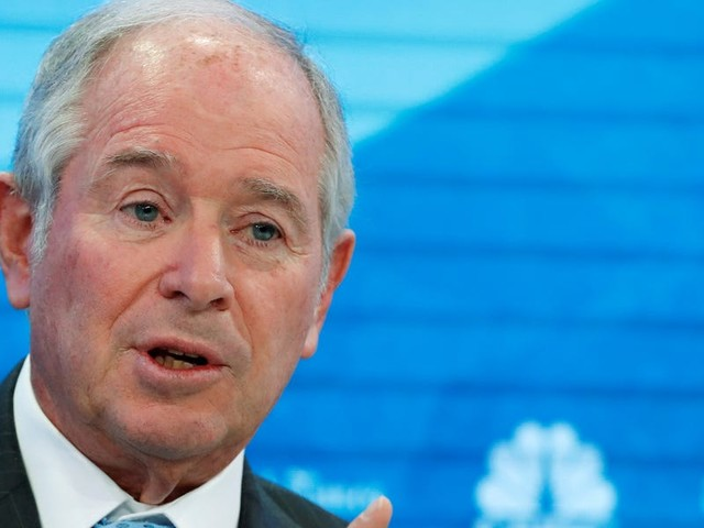 Blackstone CEO Stephen Schwarzman says he doesn't understand why companies pit execs against each other in succession battles and tells us why he kept his next in line a secret for more than a year