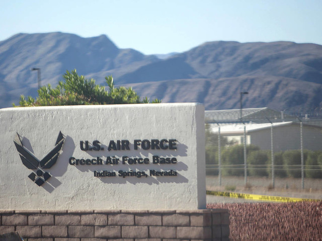Creech Air Force Base warns against trespassing on firing range