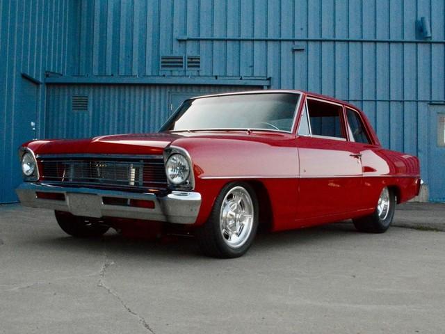 1966 Chevrolet Nova CUSTOM 2-DOOR SEDAN