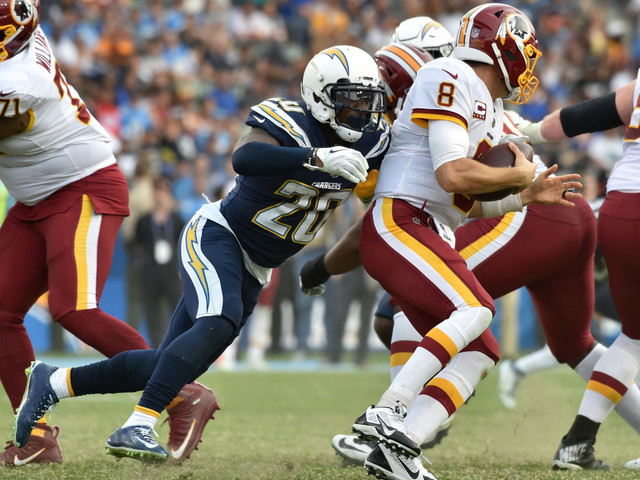 Chargers rookie Desmond King's playmaking knack is turning into sacks