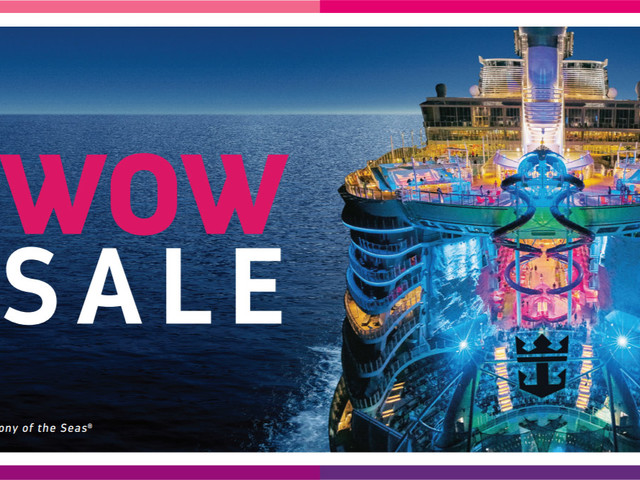 Royal Caribbean's WOW Sale offers up to $300 onboard credit