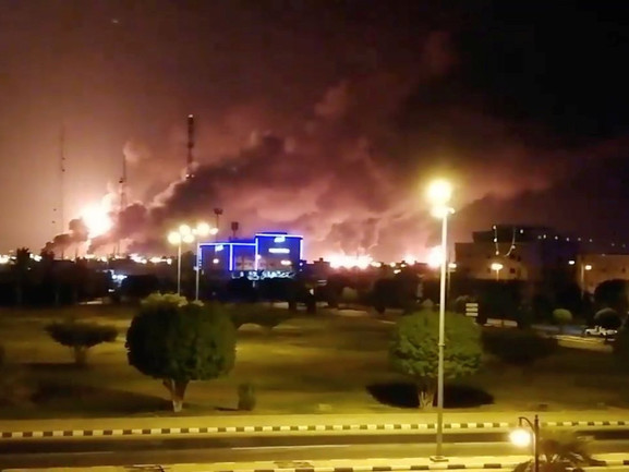 Oil To Hit $100? Half Of Saudi Oil Output Shut After Drone Strikes Cripple World's Largest Oil Processing Facility
