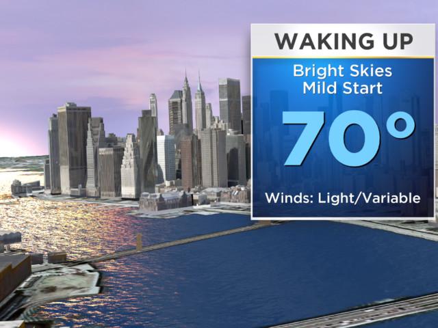 New York Weather: CBS2 7/15 Monday Morning Forecast