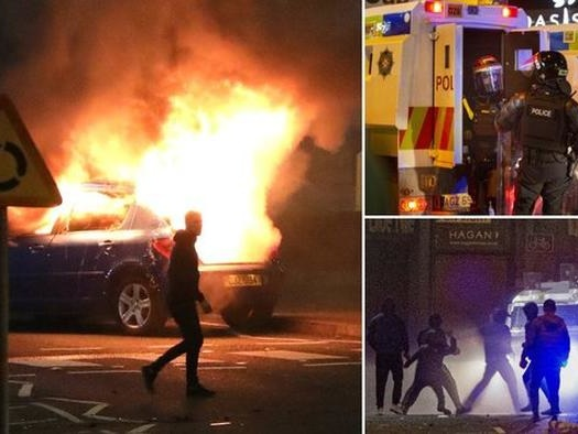 'Troubles' 2.0? Riots Erupt In Northern Ireland Amid Brexit Tensions, COVID Confusion