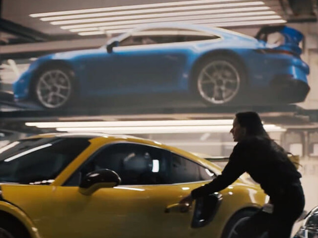 Did Porsche Sneak a Peek of the New 911 GT3 Into Its Super Bowl Ad?