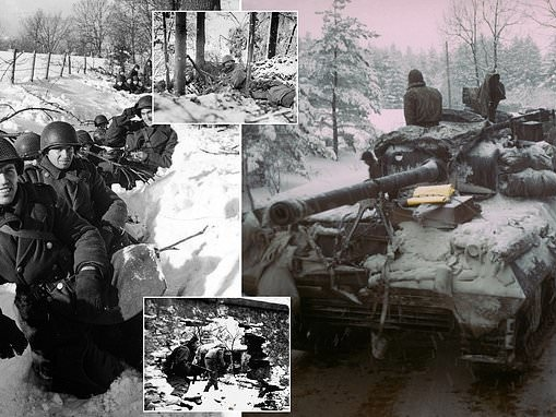 World War II veterans mark 75 years since the Battle of the Bulge
