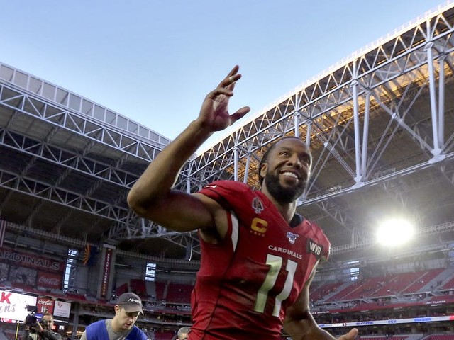 Larry Fitzgerald Jr. again mum on future following Cardinals' home finale