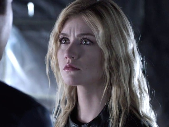 'Arrow' star Katherine McNamara says that filming the 'Crisis' crossover event was 'utter mayhem' and it'll be emotionally 'exhausting' for fans