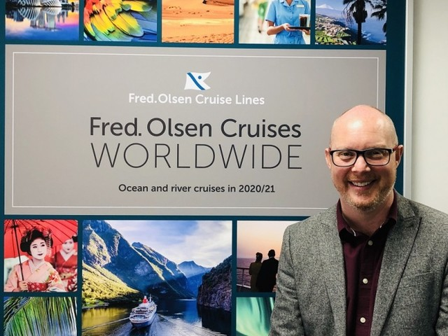 News: Ridgeon appointed head of sales for Fred. Olsen Cruise Lines
