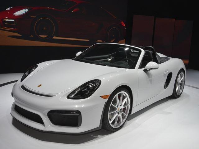 Upcoming Porsche 718 Boxster Spyder Will Get 911 GT3's Flat-Six