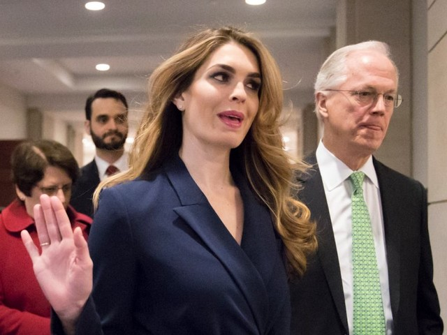 Hope Hicks reportedly told friends she wouldn't return to the White House this year, even if Trump asked