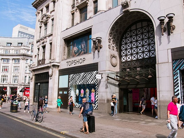 Arcadia completes 310 million pound refinancing of Topshop flagship