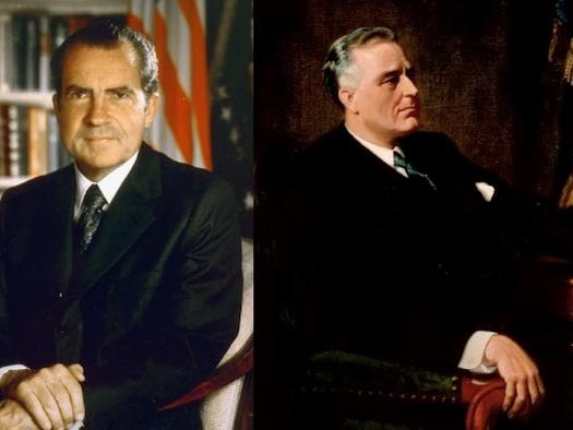 """How Nixon And FDR Used """"Crises"""" To Destroy The Dollar's Links To Gold"""