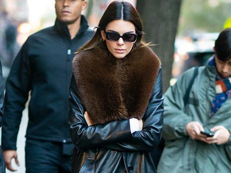 Faux Fur: Kendall Jenner, Hailey Baldwin & 18 More Stars Bundling Up In Fluffy Jackets
