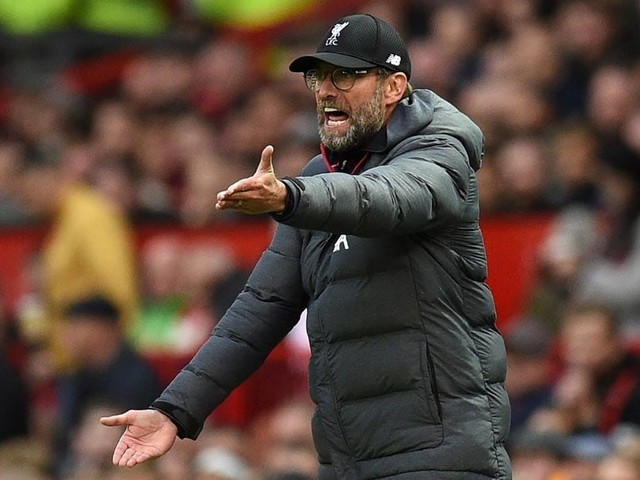 """""""They Just Defend"""": Klopp Frustrated As Manchester United Hold Liverpool"""