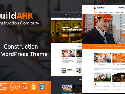 BuildARK- Construction Business WordPress Theme (Business)