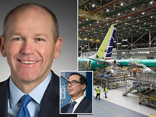 Boeing a big winner from stimulus package as Trump vows to protect the nation's largest exporter