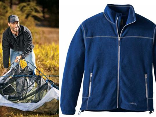 $6.88 (Reg $35) Cabela's Men's Snake River Fleece Jacket + FREE Pickup