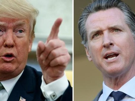 Trump Balks At California Governor's Request For Homeless Aid