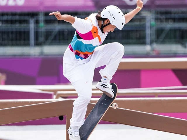 WATCH: 13-Year-Old Olympic Skateboarder Becomes One Of The Youngest Gold Medalists Ever
