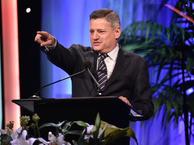Netflix's Ted Sarandos Reacts To Disney+ Bow, Reed Hastings' 'Patriot Act' Comments