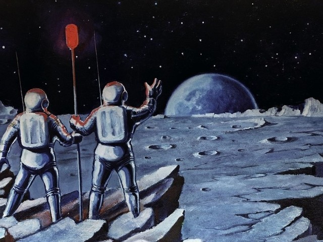 First artist to go on a spacewalk: Late cosmonaut Aleksei Leonov leaves behind AMAZING SCI-FI PAINTINGS (PHOTOS)