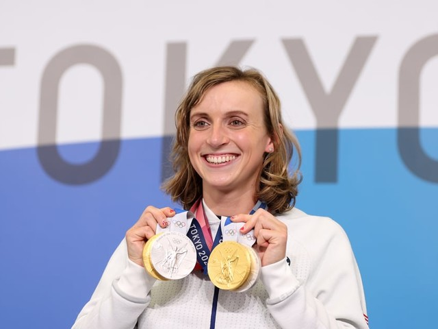Politicians, Athletes, and More Celebrate Katie Ledecky After Historic Olympic Win