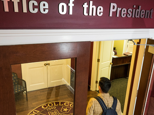 College presidents diversifying slowly and growing older, study finds