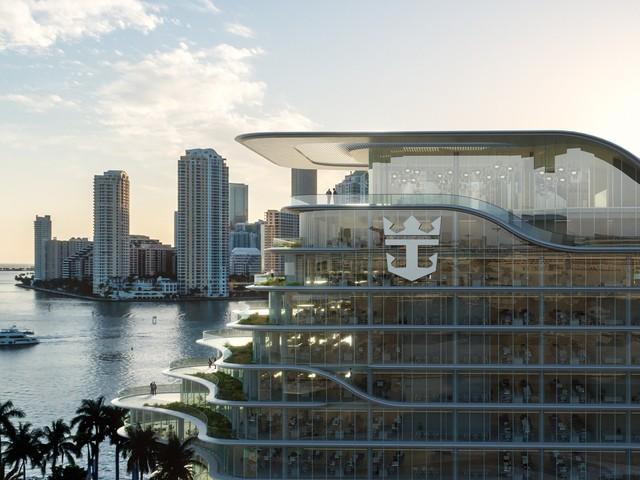 Royal Caribbean has paused construction on its new Miami headquarters due to coronavirus