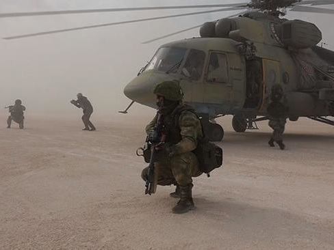Watch: Russian Commandos Take Over Sprawling Base In Syria Moments After US Abandoned It