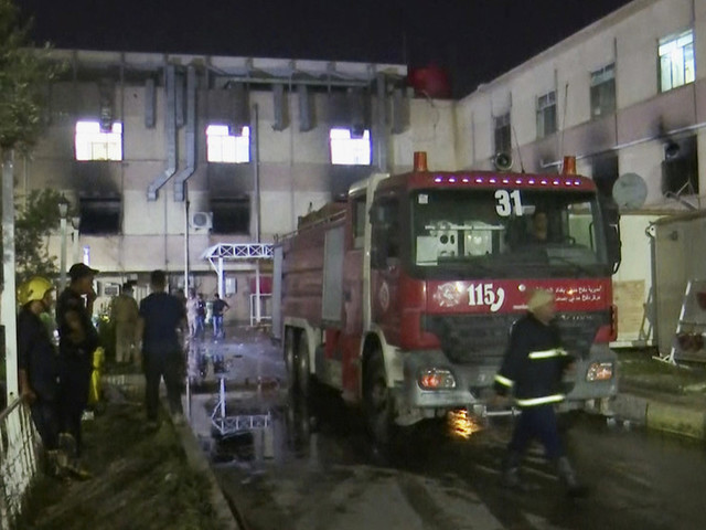 Iraq's health minister resigns in wake of devastating hospital fire caused by exploding oxygen tank