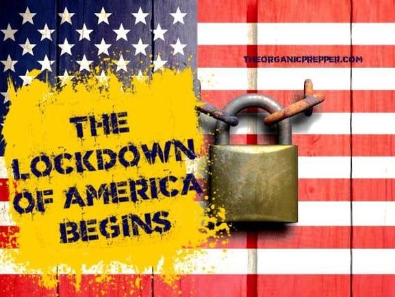The Lockdown Of America Begins